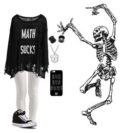 """""""Untitled #133"""" by xthexlostxonex ❤ liked on Polyvore featuring Sisley, Converse, Wildfox, Delphine Leymarie and NOVICA"""