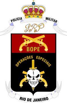 PMERJ  Polícia Militar Estado do Rio de Janeiro - BOPE. (Brasil)