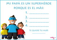 Manualidades del Día del Padre para imprimir - Especial Día del Padre - En familia - Guia del Niño Manualidades Halloween, Play To Learn, Ideas Para, Fathers Day, Disney Characters, Fictional Characters, Family Guy, Learning, School