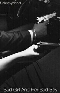 Bad Girl And Her Bad Boy - Austin Mahone Fanfiction Gun Aesthetic, Badass Aesthetic, Bad Boy Aesthetic, Mains Couple, Art Couple, Mafia, Fille Gangsta, Rauch Fotografie, Flipagram