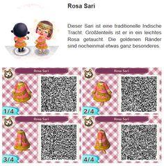 Rosa Sari by Hanne
