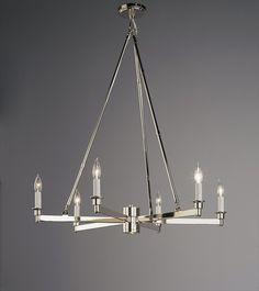 Robert Abbey Lighting David Easton Uppark Chandelier 9304S426-FN