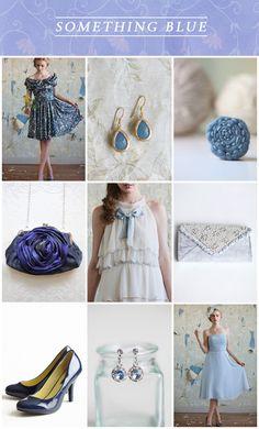 Wedding Wednesday: Something Blue / Ruche Blog