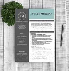 Professional Nurse Resume Template Premium Resume Template For
