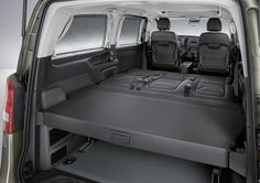 By eliminating added equipment like the kitchen and water tanks, Mercedes offers more inte...