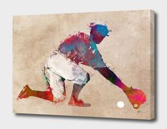 Shop for Noir Gallery Baseball Player Gift Sports Unframed Art Print/Poster. Get free delivery On EVERYTHING* Overstock - Your Online Art Gallery Store! Gifts For Baseball Players, Fine Art Prints, Canvas Prints, Texture Art, Online Art Gallery, Poster Prints, All Poster, Street Art, Vibrant Colors
