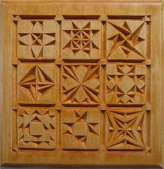 Chip Carving Class - Quilt Squares #6: Lesson 3: Pattern Development - by MyChipCarving @ LumberJocks.com ~…