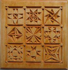 Chip Carving Class - Quilt Squares #6: Lesson 3: Pattern Development - by MyChipCarving @ LumberJocks.com ~…