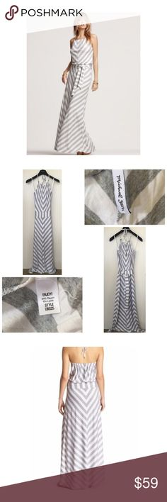 "NEW Michael Stars Maxi Dress NEW Michael Stars Maxi Dress • Size Small • Ties around the neck • Belted waist • Unlined • Measures approx 55"" from neckline to hem • Retails at $158 • New, never worn Michael Stars Dresses Maxi"