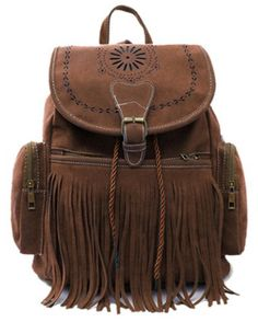 Boho Tassel Backpack Bag. Get it @ www.mermaidsandsailors.net