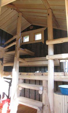 Swedish Sauna, Saunas, Colorful Decor, Loft Beds, Traditional, Cob, Benches, Smoke, Interiors