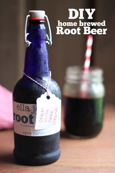 Stir and Scribble: DIY | Home-brewed Root Beer, im not one for soda, but homemade root beer sounds awesome! and my husband would love it!
