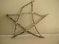 Love this simple twig star
