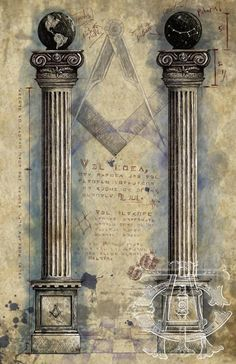 This is an exclusive item of original Masonic Artwork available only at The Craftsman's Apron. It is a stunning rendition of a part of the Second Degree of Freemasonry that is familiar to every member of the Craft.