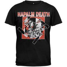 Napalm Death - Nazi Punks T-Shirt