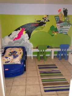All children should wake up as a winner. Every morning 😉 Wall Paintings, Kids Rugs, Wallpaper, Children, Handmade, Home Decor, Homemade Home Decor, Boys, Hand Made