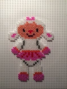 Lambie - Disney Doc McStuffins hama beads by Camilla Merstrand