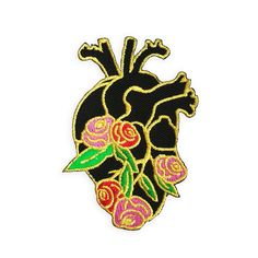 ANATOMY BLOOM - HEART PATCH  by THE C PROJECT  $9.00