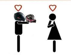 Bike Meme, Biker Couple, Instagram Symbols, Hd Design, Kawaii Disney, Bike Illustration, Biker Quotes, Motosport, Dirtbikes