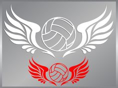 VOLLEYBALL with Tribal Wings