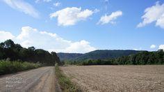 Estrada Rural próximo à comunidade de Barra Grande no interior de Porto União - Santa Catarina - Brasil.