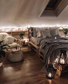 Room Design Bedroom, Room Ideas Bedroom, Small Room Bedroom, Bedroom Styles, Home Bedroom, Bedroom Decor For Teen Girls, Teen Room Decor, Cute Bedroom Decor, Cozy Room