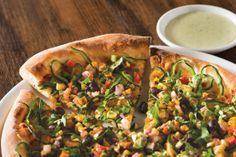 One of my favorite pizzas- spicy chipotle chicken pizza from CPK Pizza Store, Pizza Pizza, Pizza Party, California Pizza Kitchen Menu, Chicken Pizza Recipes, Southwest Chicken, Chipotle Chicken, Favourite Pizza, Stromboli