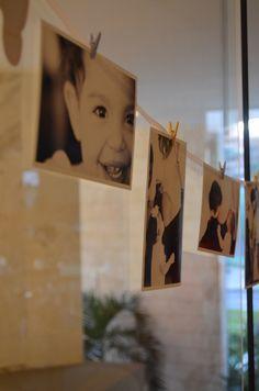 Photo Wall, Baby Shower, Frame, Blog, Home Decor, Baby Boy Shower, Toddler Girls, Ideas, Babyshower