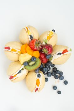 Fruit Pizza Sandwich