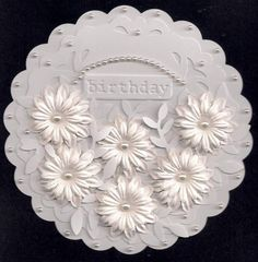 Simon Say White on White Challenge by bmbfield - Cards and Paper Crafts at Splitcoaststampers