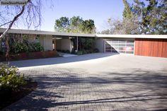 garage door to update classic ranch