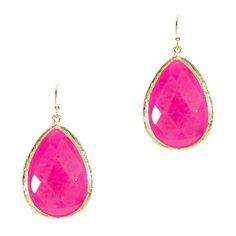 Panacea Stone Teardrop Earrings