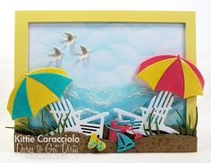 KC IO Beach Chairs and Umbrellas center