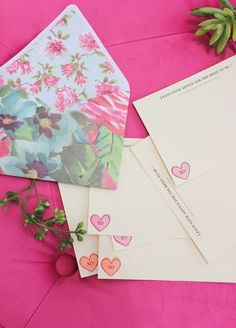 A Fabulous Fete: crafty and colorful bridal shower // for hayneedle.