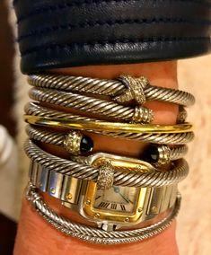 Diamond Bracelets, Silver Bracelets, Diamond Jewelry, Gold Jewelry, Jewelry Box, Bangles, Stacking Bracelets, Silver Earrings, Ankle Bracelets
