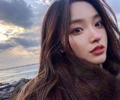 Korean Beauty Girls, Pretty Korean Girls, Korean Girl Fashion, Cute Korean Girl, Pretty Asian, Sexy Asian Girls, Asian Beauty, Ulzzang Hair, Ulzzang Korean Girl