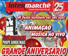 Estremoz: Intermarché celebra 14º aniversário no próximo sábado | Portal Elvasnews