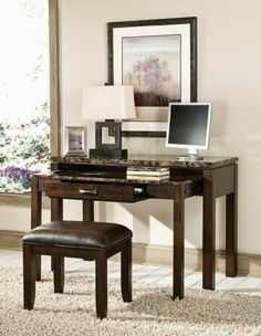 Bella Desk/Entertainment Combo w/Power Plug by Standard Furniture. $386.04. Length 48. TV Console features 2 doors for placing media components and three drawers for storage. There is an apron surrounding table tops. Cocktail. Width 20. and sofa tables have shelves on bottom for placing decorative items.. end. Quality veneers over wood products and select solids used throughout. Group may contain some plastic parts. Finish Dark BrownMaterial Veneer woodsHeight 30
