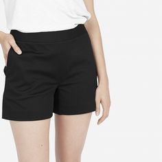 [[to buy]] The High-Waisted Short (black) - Everlane