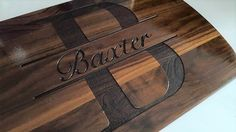 Custom Cutting Board personalized cutting Board with Juice