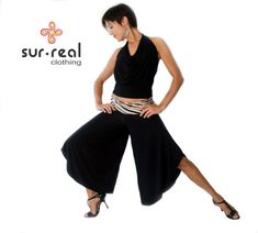 Wide Leg Tango Pants by SurRealClothing on Etsy, $59.00
