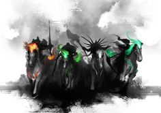 TEASER - 4 Horsemen by theDURRRRIAN on deviantART