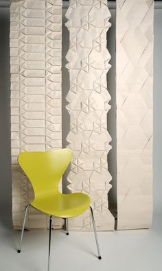 Tracey Tubb - Gallery - Origami Folded Wallpaper