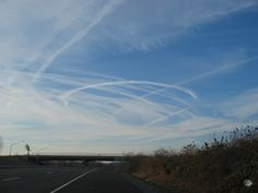 Photographed over Laurel, Maryland, US