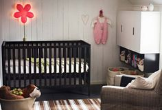 i love the high cabinets for the stuff you need for the baby that they dont need to be messing with