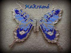 Makramégyöngyök: Pillangó... :)