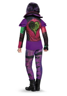 2019 Disney Descendants Mal Deluxe Girls Child Kids Costume + Coolie and more Disney Costumes for Girls, Girl's Halloween Costumes for Disney Costumes For Girls, Toddler Costumes, Disney Dresses, Disney Outfits, Disney Descendants Mal, Mal Descendants Costume, Mal Halloween Costume, Little Girl Outfits, Kids Outfits