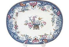 Love this gorgeous floral-motif plate, picked by Vogue's international editor-at-large Hamish Bowles!