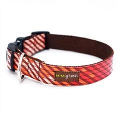 4e8e78330 Mimi Green Guava Laminated Cotton Dog Collar!  dog  puppy  dogproducts   poshpuppyboutique