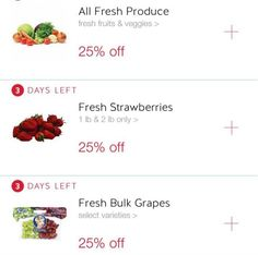 Get in the coupon game and download rebate apps. | 27 Ingenious Ways To Eat Healthy On A Budget